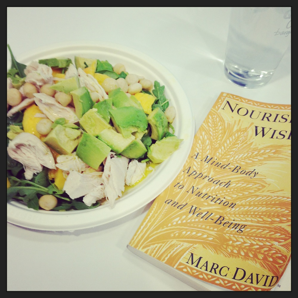 What I eat now, and what I'm reading