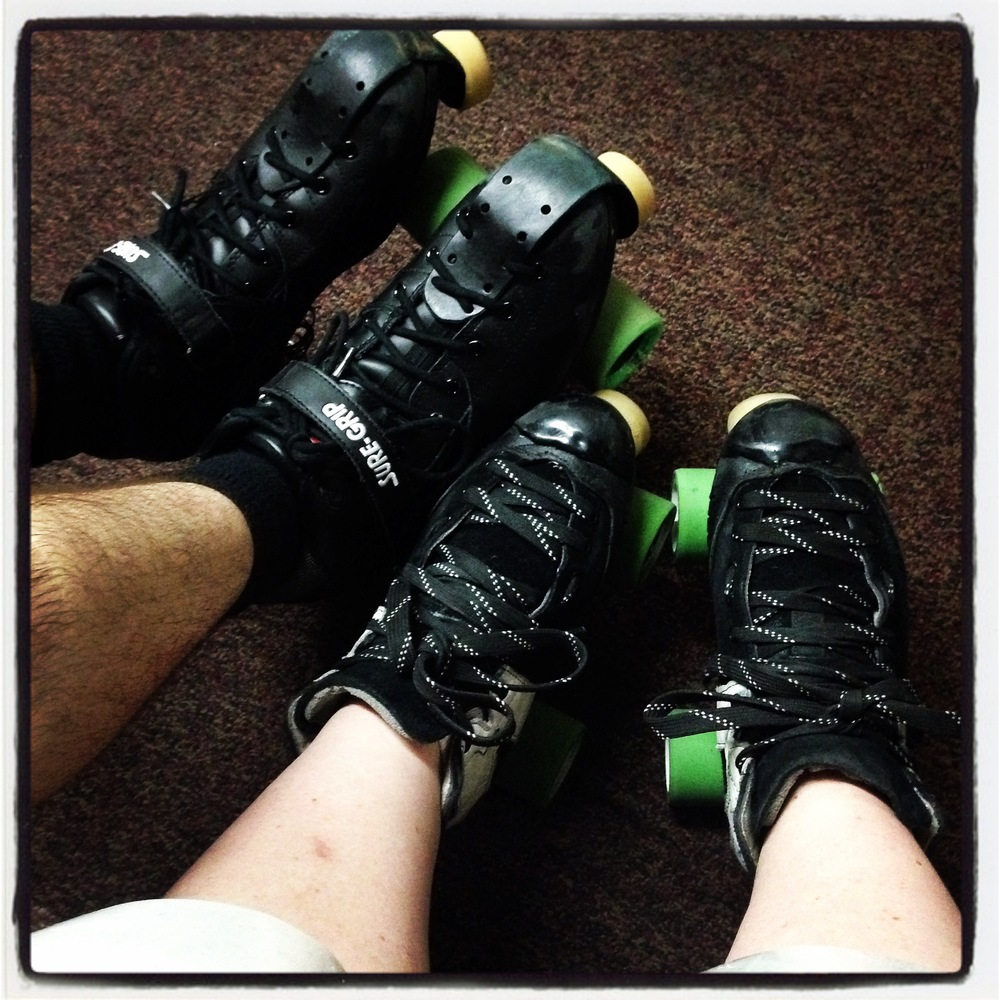 rollerskates at the rink