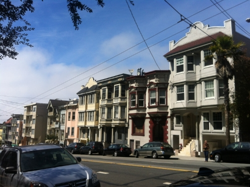 One of the streets Jaye lived on in San Francisco in the 1970's.