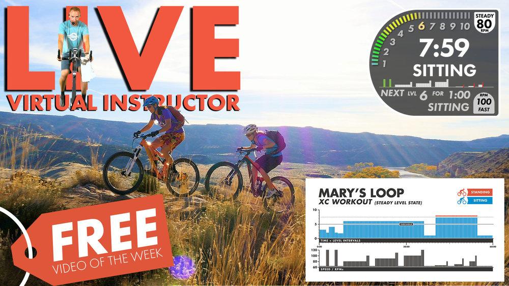 Marys Thumbnail XC Virtual Instructor Screen Shot W-Info Graphic Free Video of the week.jpg