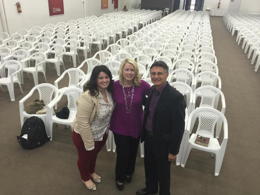With Pastor Jose Roberto Izaias, Comunidade da Familia de Americana, Americana, Sao Paulo, Brazil