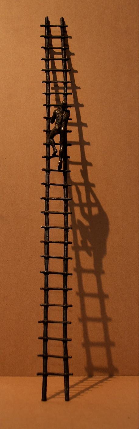 Solitary Climber
