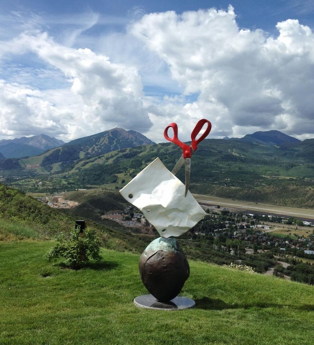 Rock Paper Scissors Monument