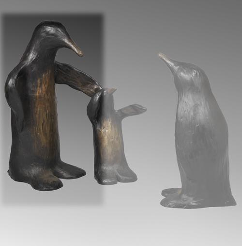 """Penguin Mama 36"""""""
