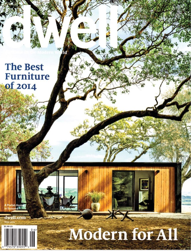 Jacks on the cover of Dwell Magazine!
