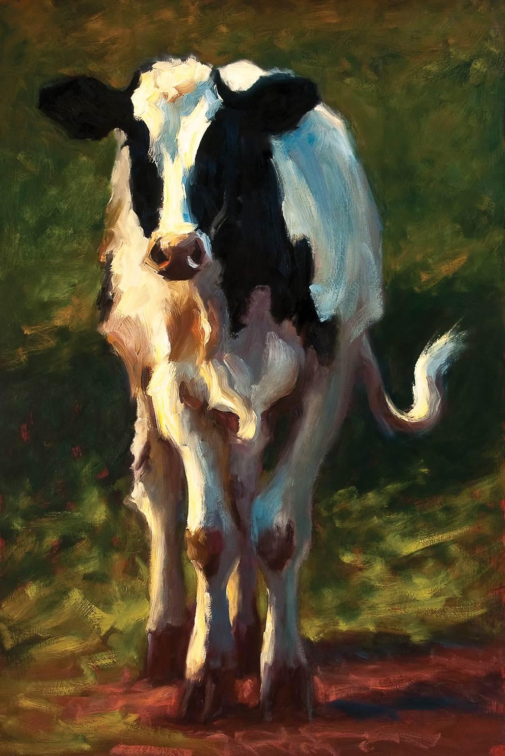 Holstein in Spring