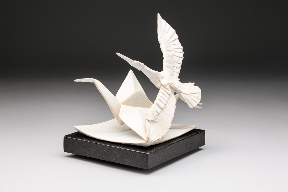 Flight of Folds Maquette