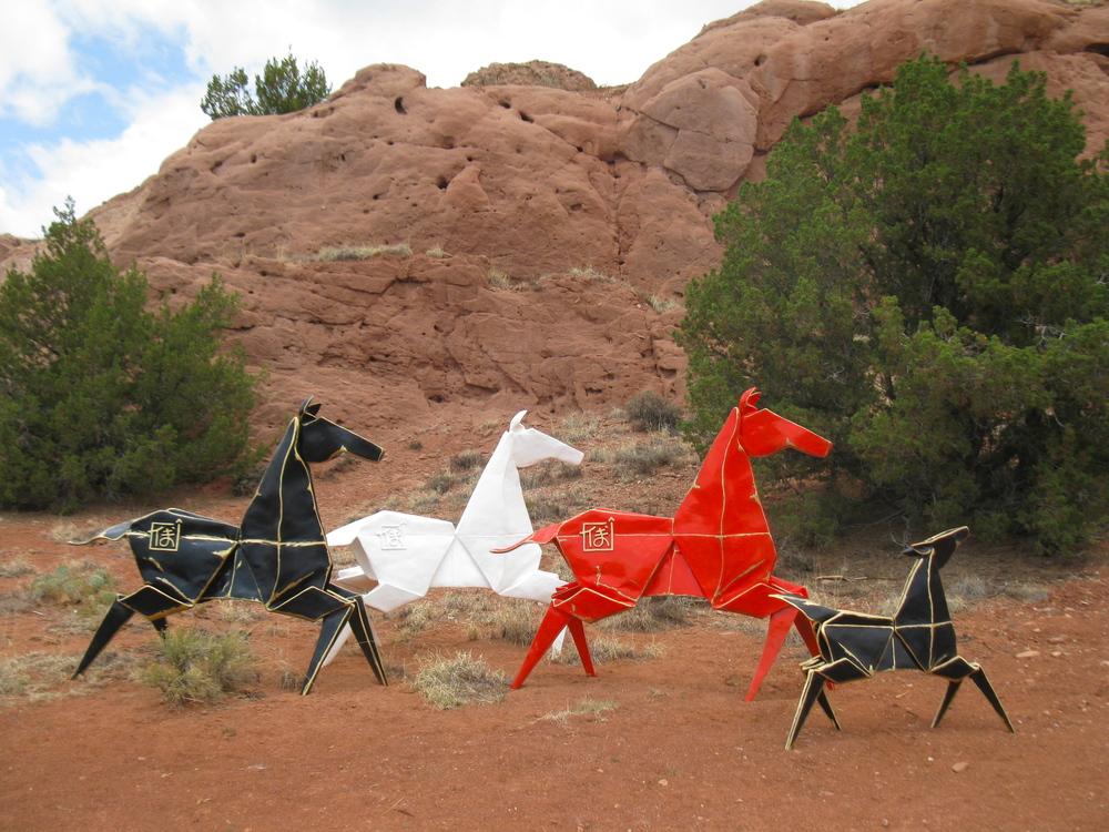 Pony Monument & Dancing Pony