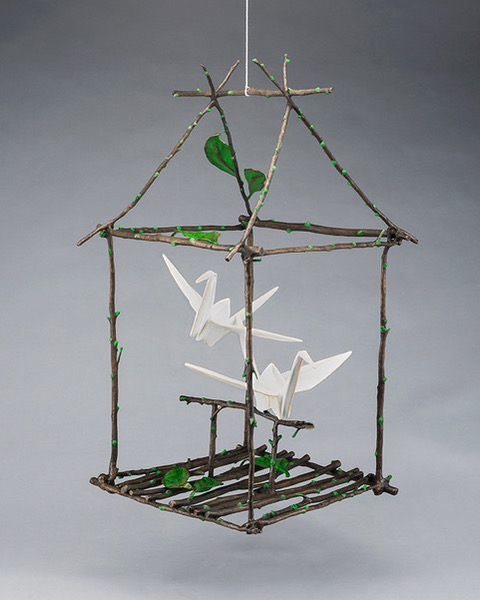 Spirit House (Small Hanging)
