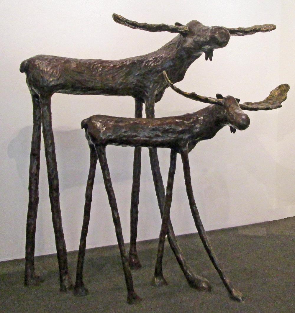 """71"""" & 58"""" Moose"""