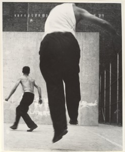 © Leon Levinstein, Handball Players, Lower East Side, NY