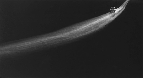 © George Tice,  Country Road, Lancaster, Pennsylvania, 1961
