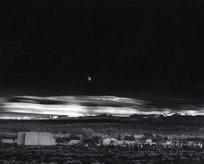 © Ansel Adams.  Moonrise over Hernandez, Final Print