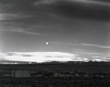 © Ansel Adams. Moonrise over Hernandez, Auto Curves Applied