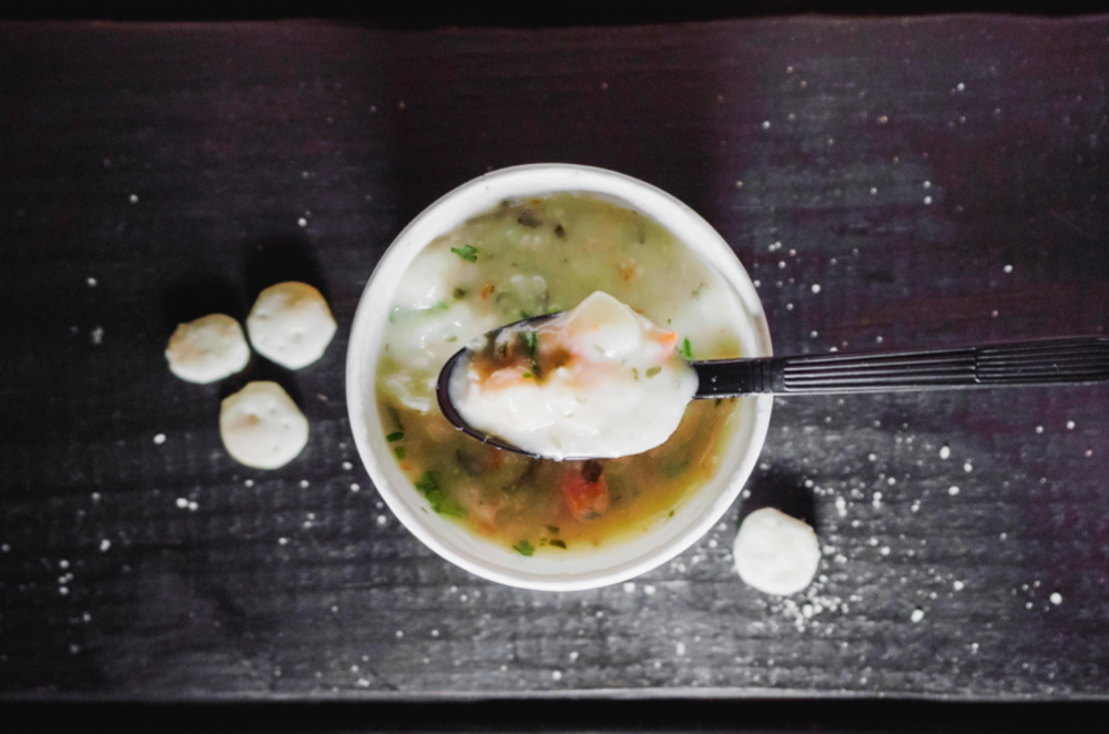 history of clam chowder