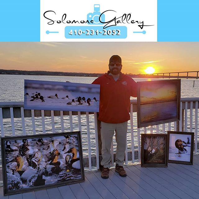 Our Print Of The Day is a professional photographer by the name of Dan Baxley. We did five GiClee prints for him, that are going into a new retail location called Bourbon & Bows in Leonardtown, Maryland. Keep an eye on Dan Baxley. He is making moves in the wildlife photography world. Come see us at Solomons Gallery when you are ready to print!  #SolomonsGallery  #TerryQuinn #SolomonsIsland #MarylandPhotography #MetalPrinting #WildlifePhotography #Photographer #Somd #CustomFraming #CanvasPinting #DanBaxley #ProfessionalPrinting #Bourbonandbows #LeonardtownMaryland
