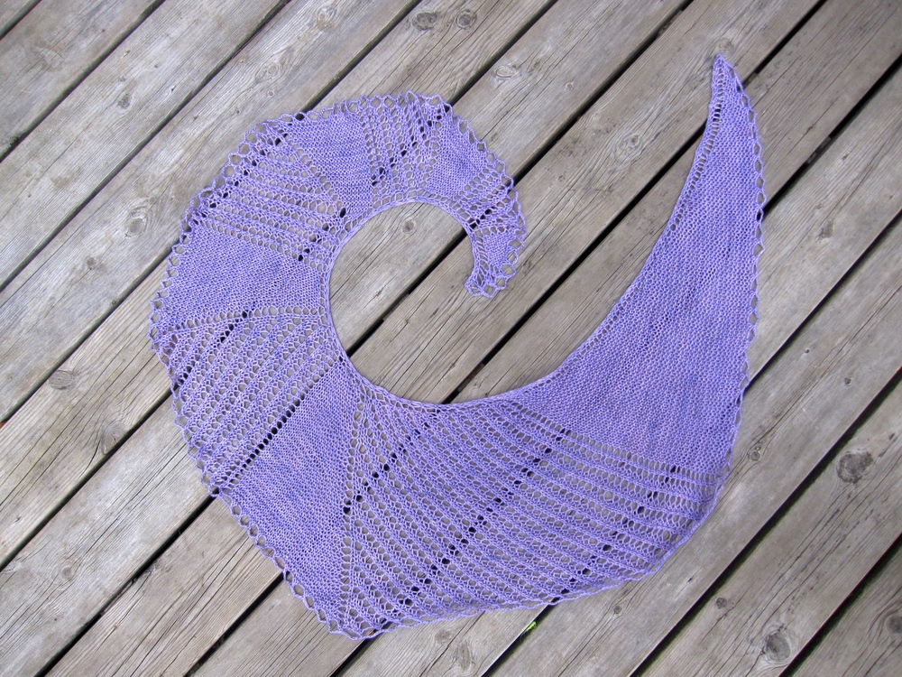 Nautilus shawl...