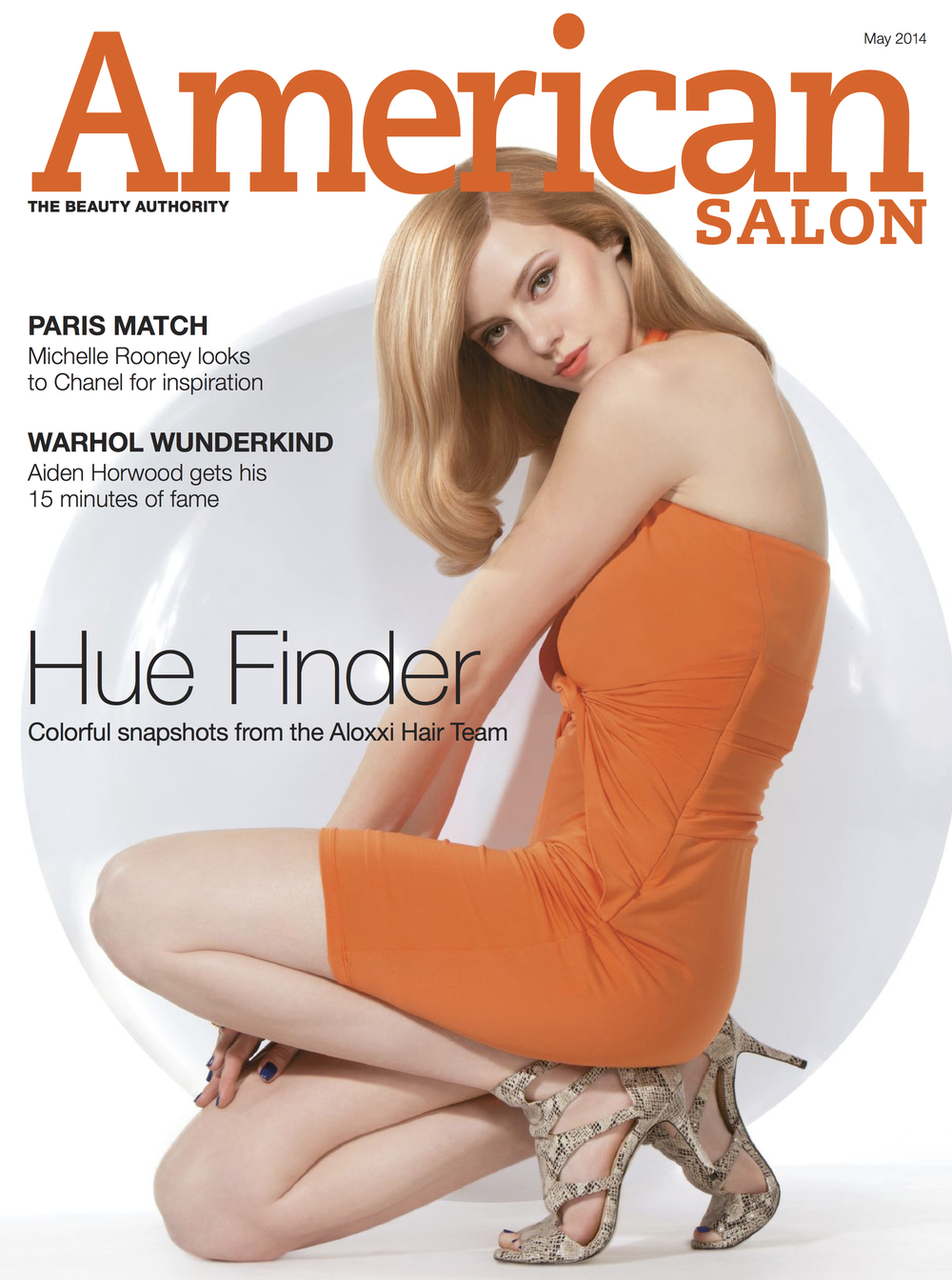 American Salon Magazine Cover