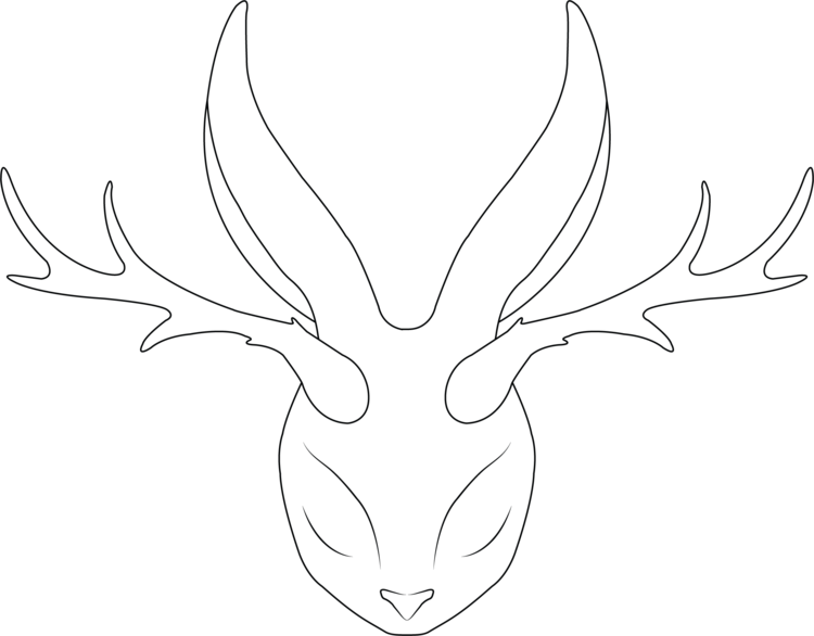 the white jackalope