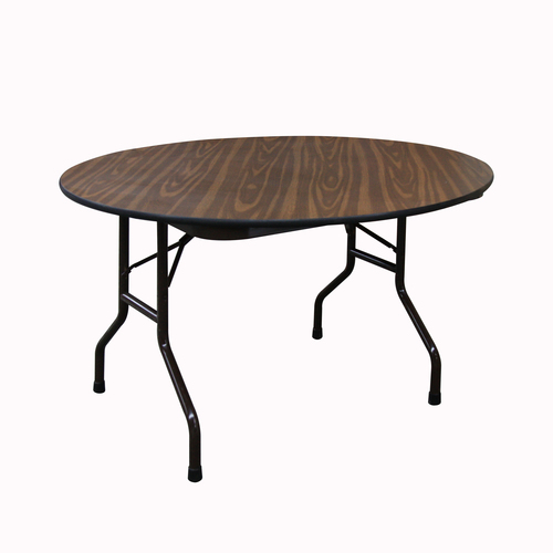 Folding Mayflower Woodgrain TF Metro Office Furniture Rental - 48 inch round office table