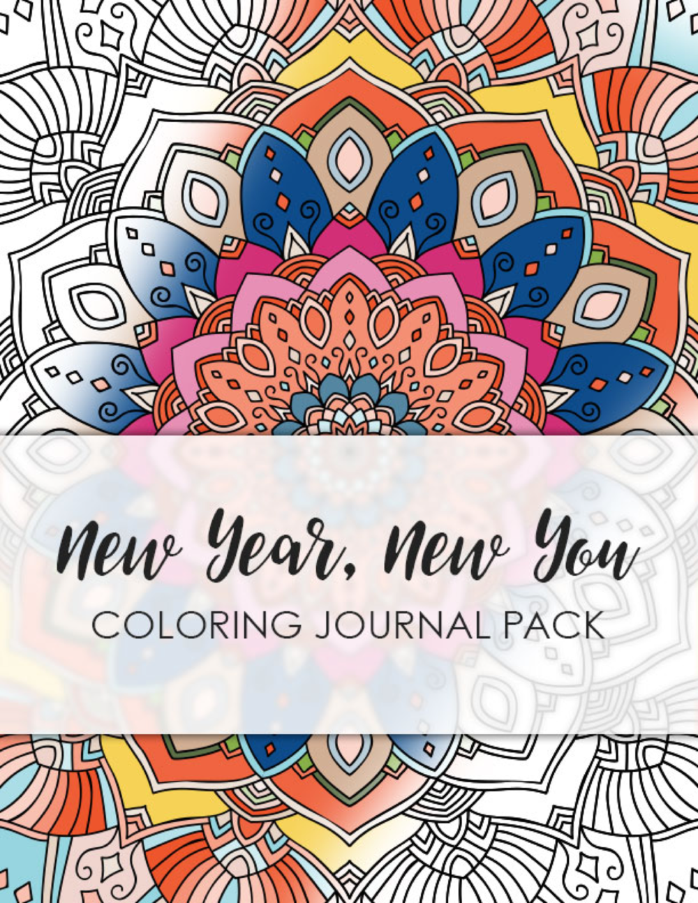 New Year New You Coloring