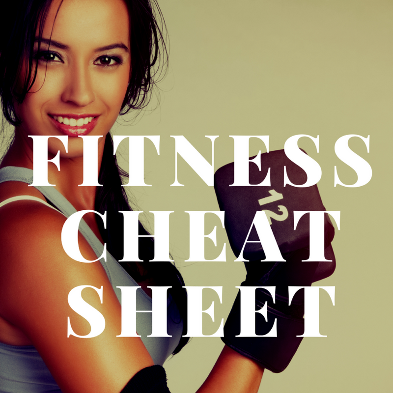 Fitness Cheat Sheet