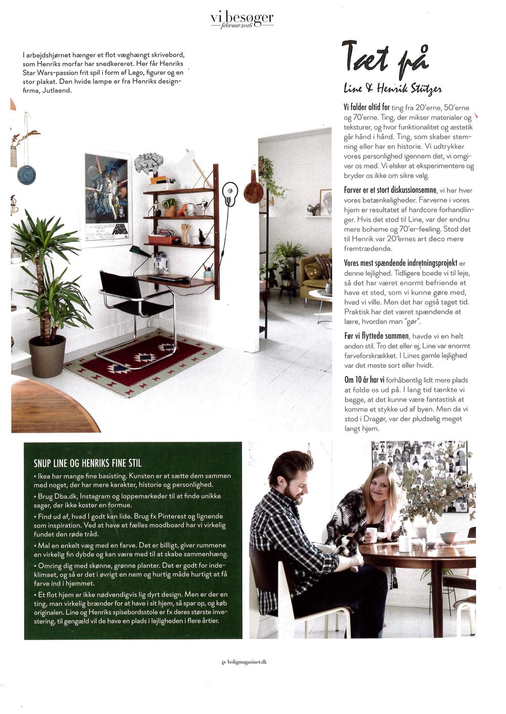 Bolig Magasinet - Nr. 193 - Februar - 2016