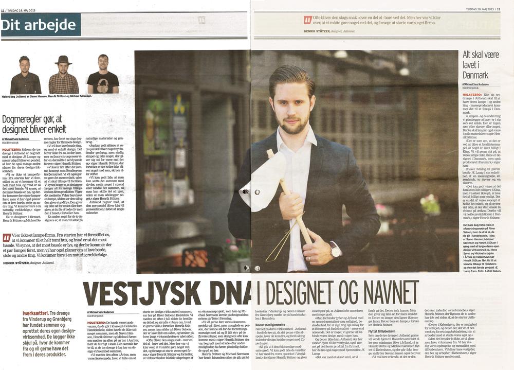 Dagbladet Holstebro - 28.05.13