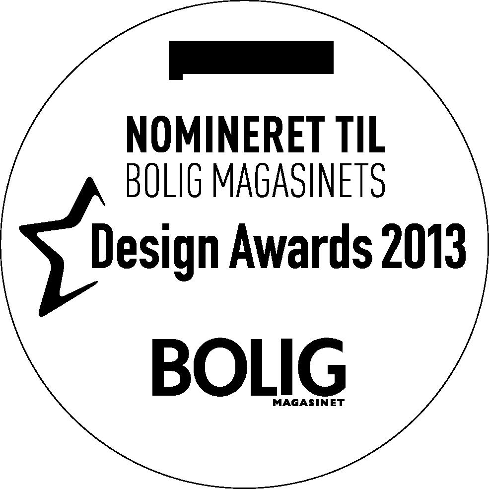 Nominering i Boligmagasinet Nr. 161 - Juni - 2013 - Bedste Upcoming
