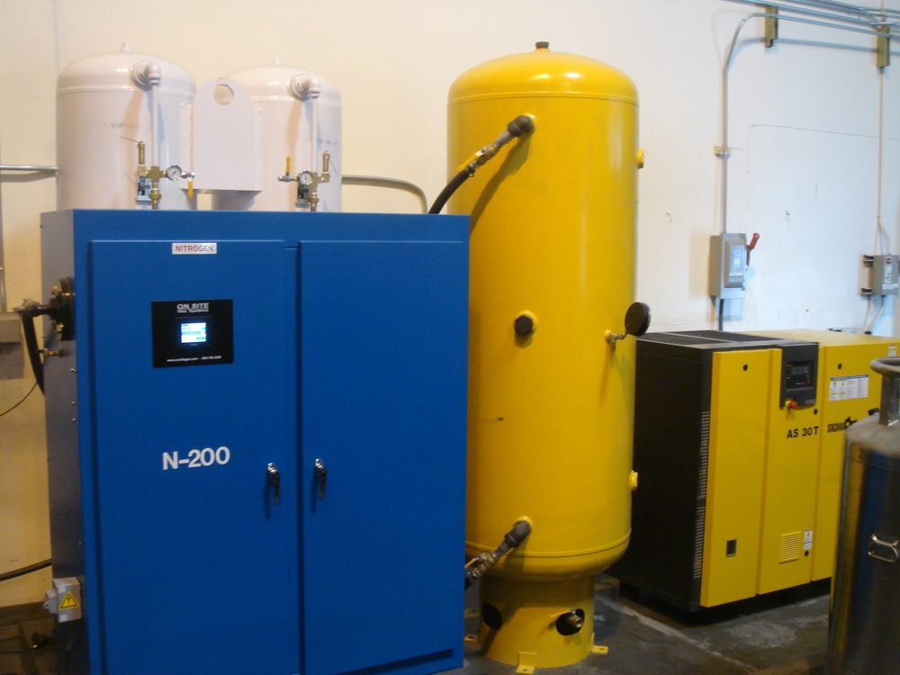 Nitrogen Gas Generator for Cheese Packaging MAP