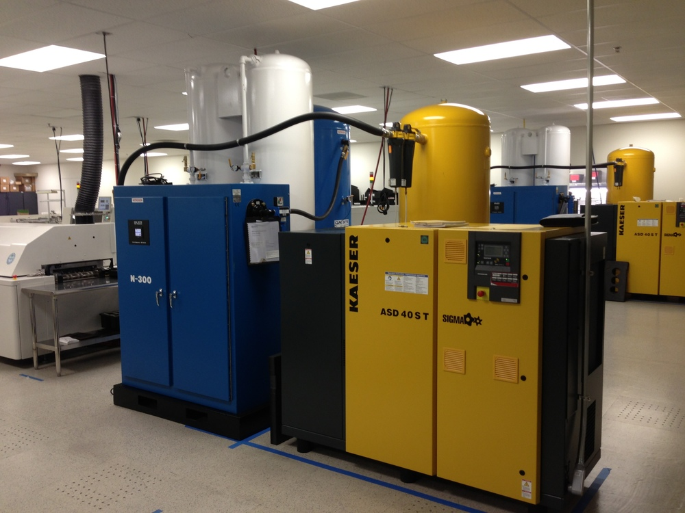 Nitrogen Gas Generator for Reflow Solder