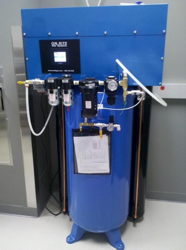 Small Oxygen Gas Generator for Vet Clinics / Hospitals.