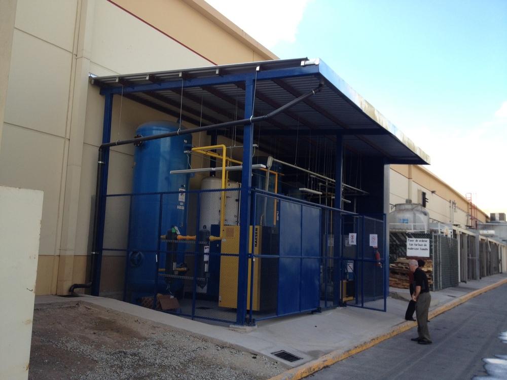 Turn key installation laser cutting nitrogen gas generator