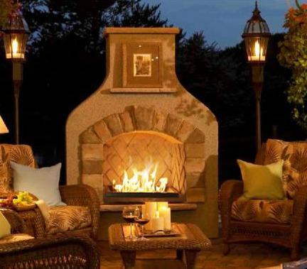 Outdoor Living North Atlanta Fireplace