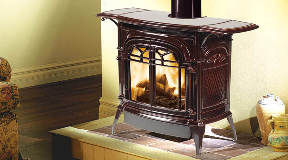 Stardance Direct Vent Gas Stove by Vermont Castings