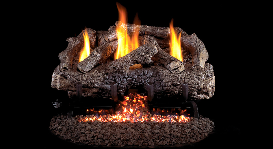 Charred Frontier Oak  Available in sizes 16/18, 24 and 30 inches