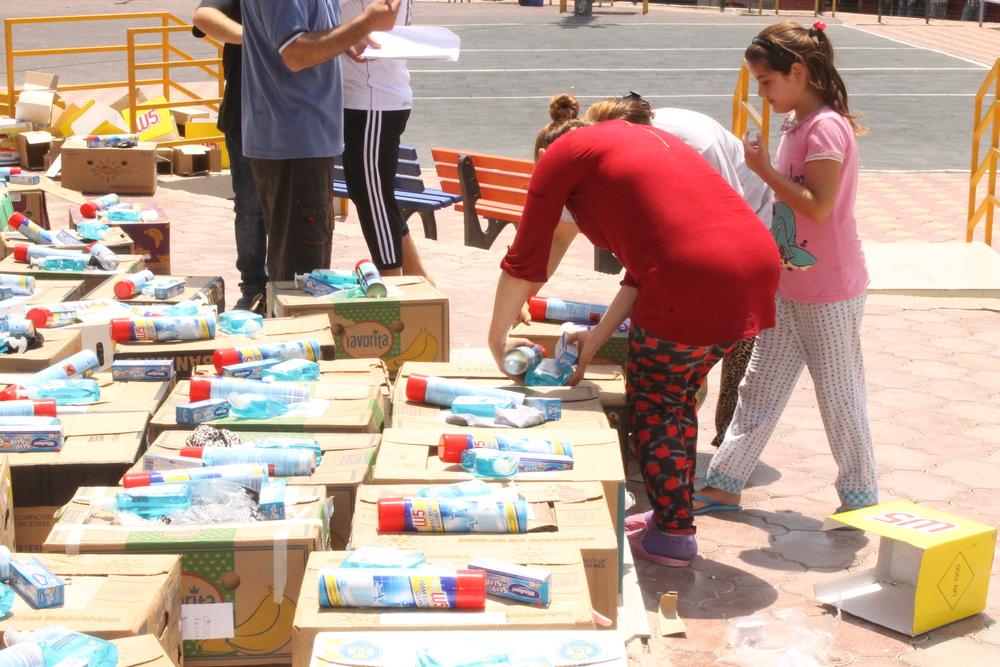 humanitarian aid iraq