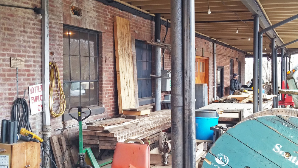 That is a front porch! & The Old Cold Storage u2014 Ou0027Shea Wilson Siteworks