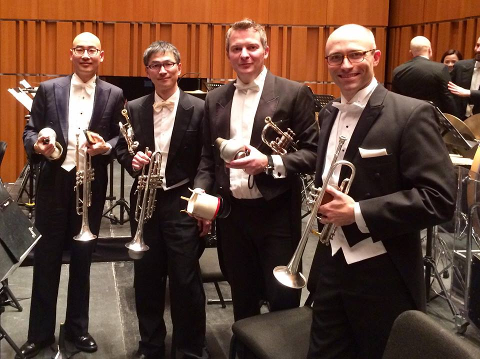Macao Orchestra Trumpet Section - February-March 2018