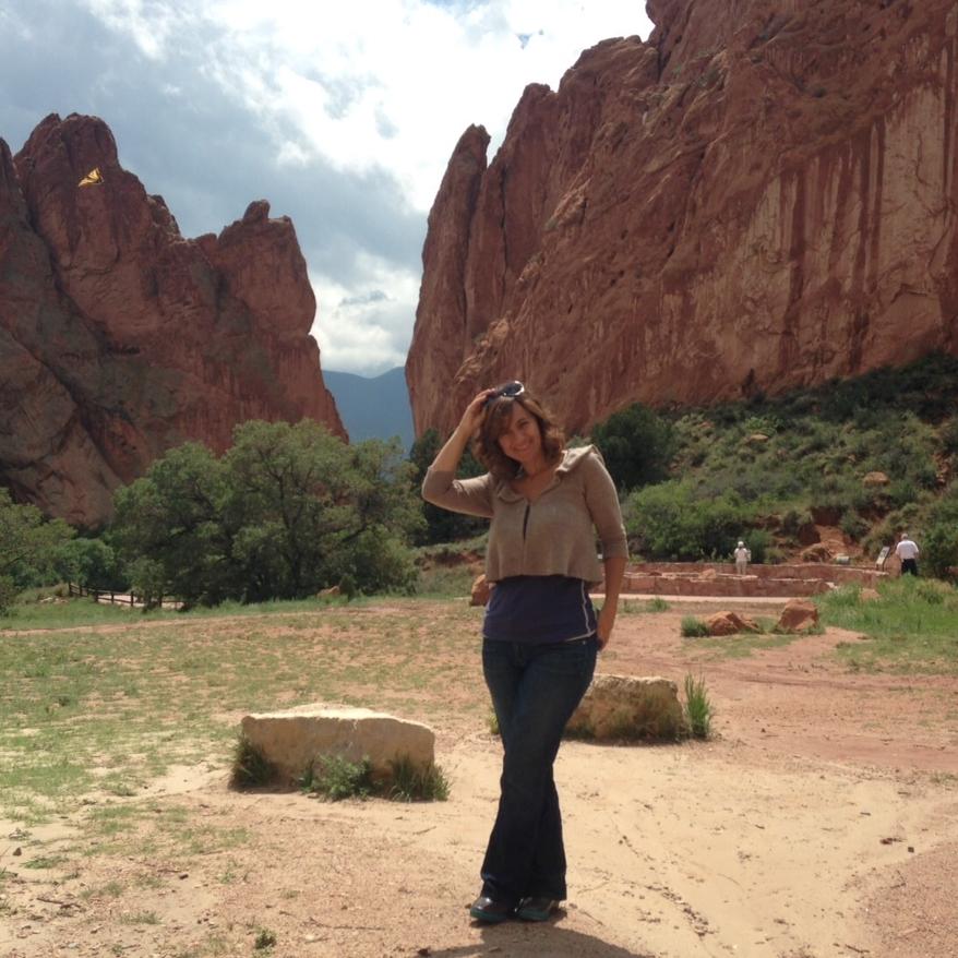 The spectacular Garden of the Gods in Colorado.