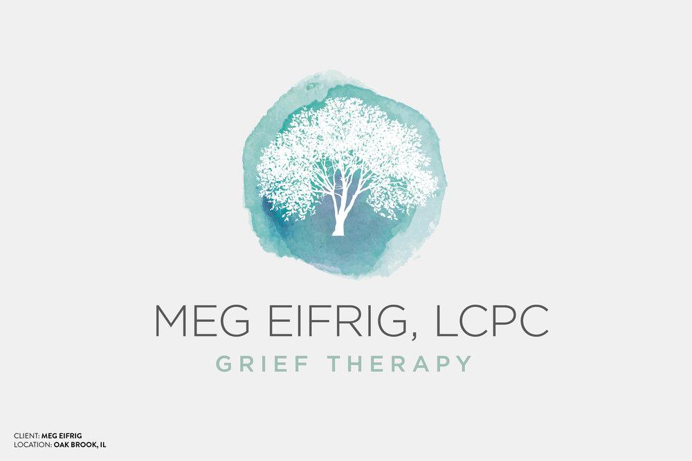 Meg Eifrig Grief Therapist Logo Design