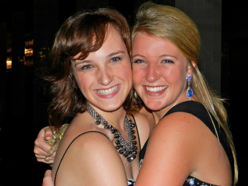 Morgan and Hallie, Mississippi College LT Formal, 2012
