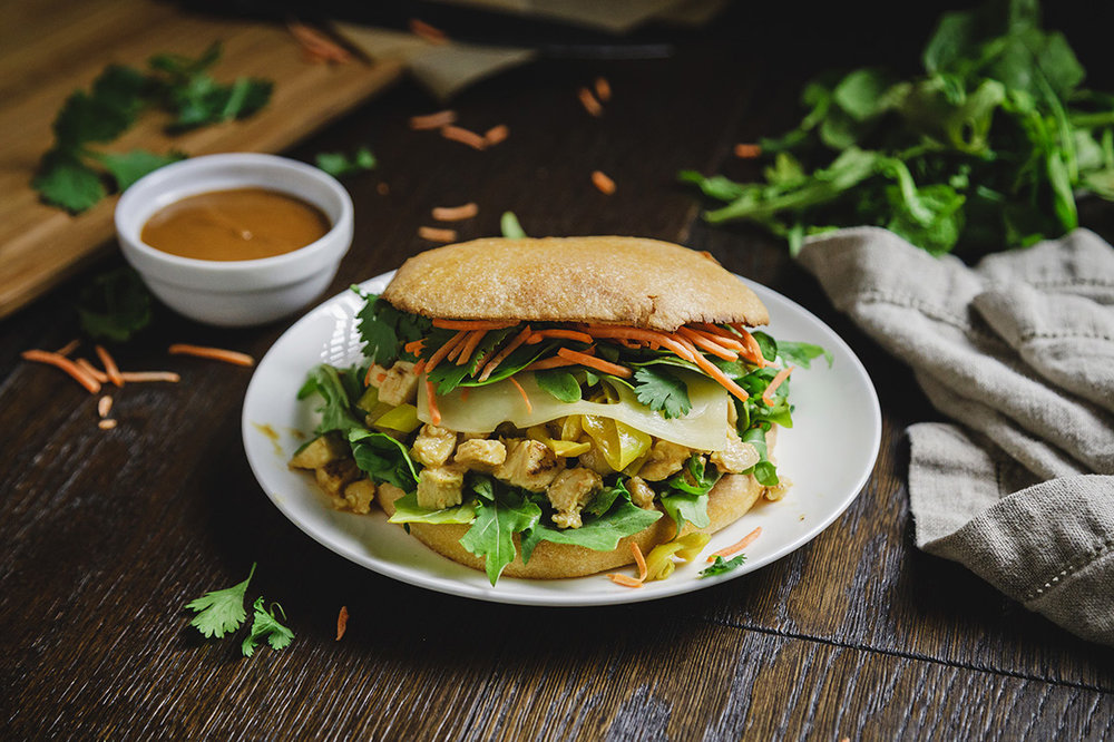 Swissified Chicken Thai Sandwich – Limited Time Offering | Specialty's Café & Bakery
