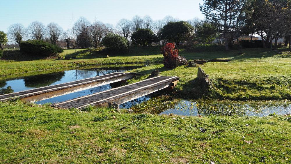 Zen garden, New Hamlet