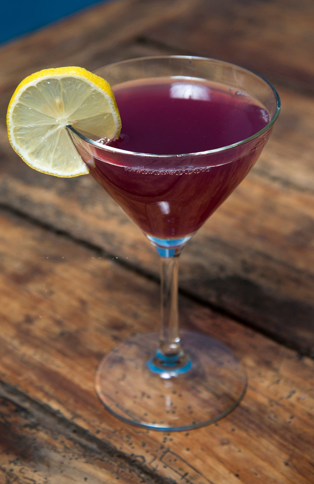 Blueberry Martini 1.0 oz Blueberry Finn 3.0 oz vodka 0.5 oz vermouth (Recipe by our very own Massimiliano Matté)
