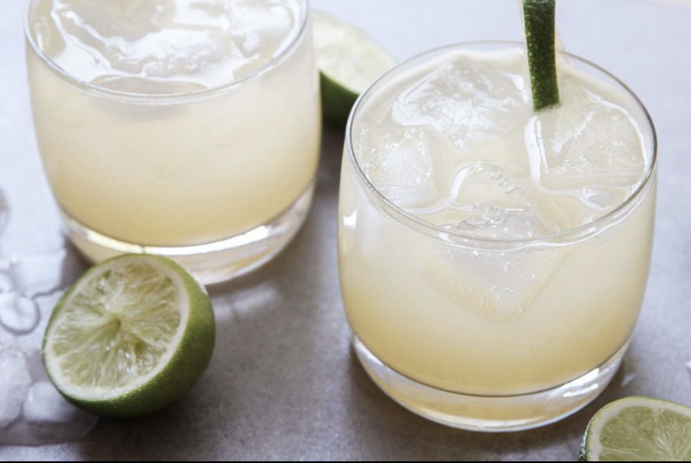 Ginger Lime Margarita 1.0 oz Ginger Gershwin 2.0 oz 100% agave tequila 1.0 oz St Germain 1.0 oz Lime juice Combine all ingredients, shake, strain and garnish with lime wedge (Recipe by @jessiskitchen)