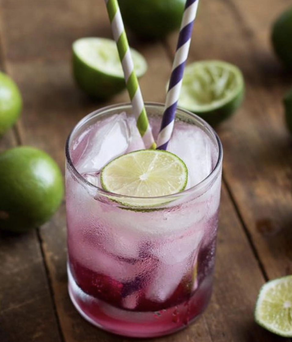 Blueberry Caipirinha 1.0 oz Blueberry Finn 1.0 oz Cachaca 4 lime wedges 1 tbspn brown sugar
