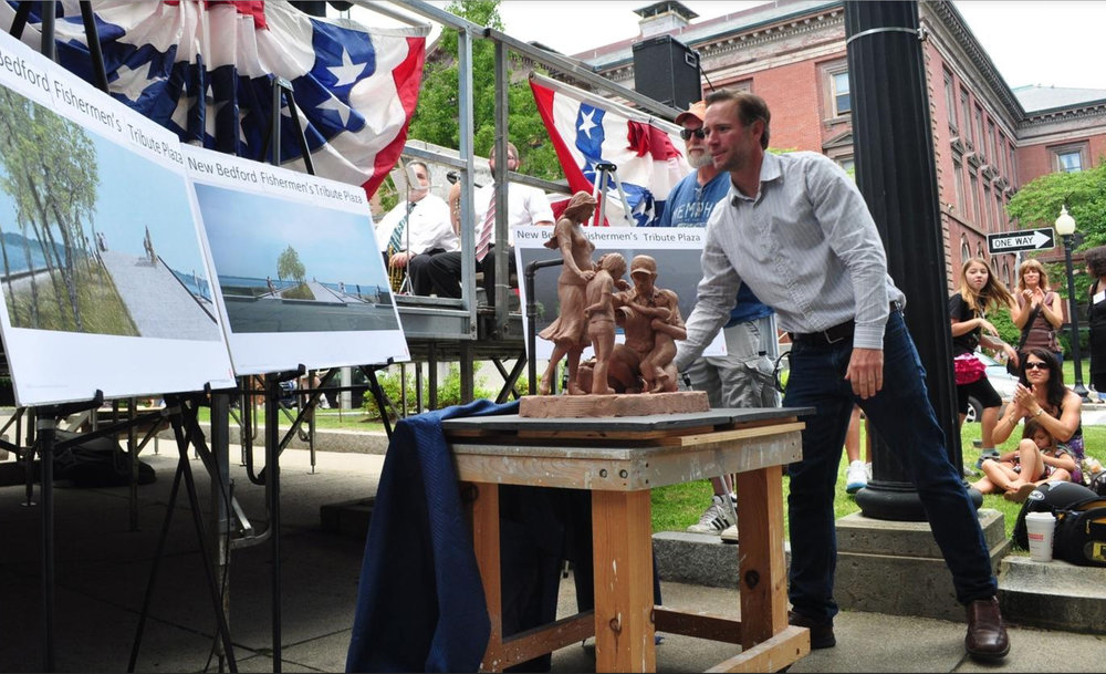 Fisherman's monument could have Memorial Day unveiling in New Bedford -