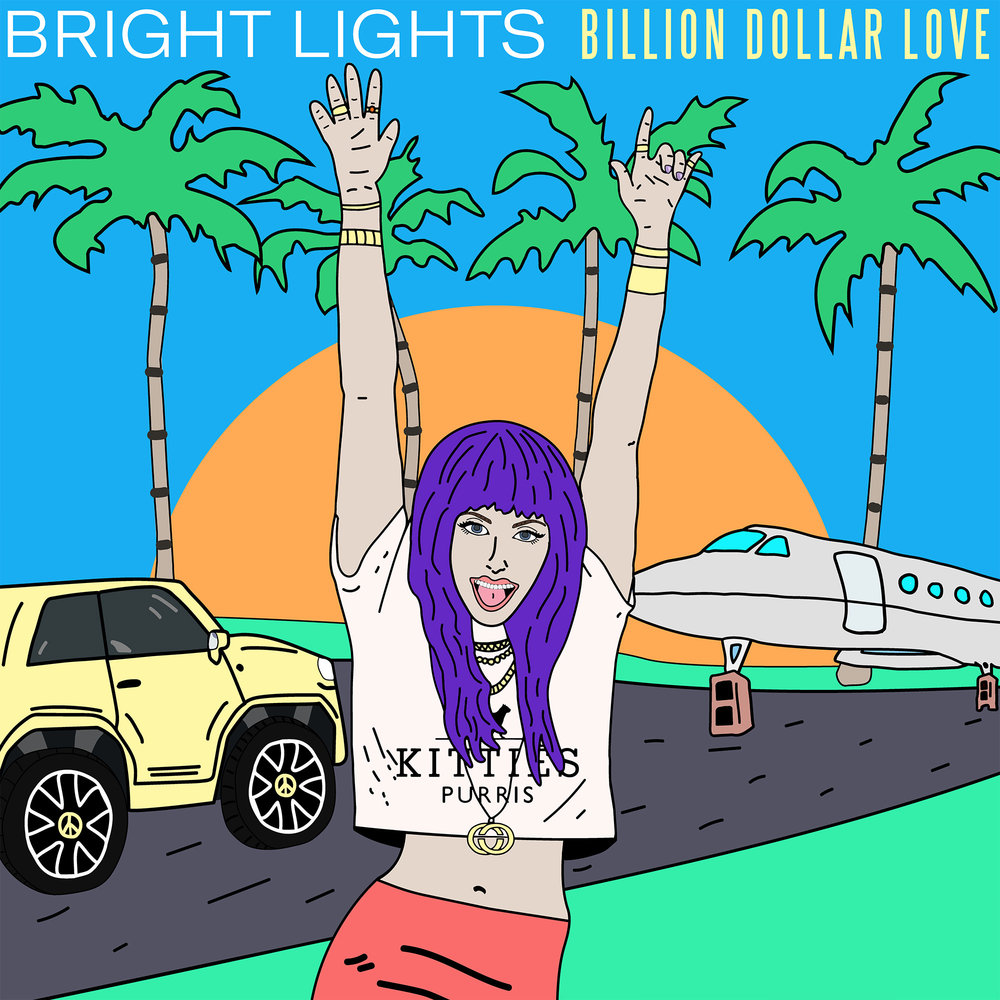Bright Lights, Billion Dollar Love Album Art