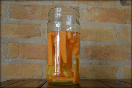 Crisp up your rubbery carrots by placing them in cold water.
